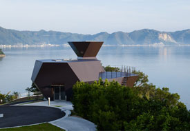 Toyo Ito Museum of Architecture, Imabari-shi, Ehime, Japan, 2011